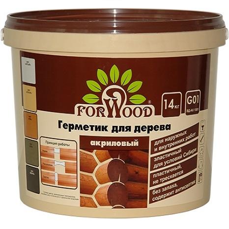 Герметик для дерева Радуга Forwood G01