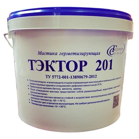 Герметик для бетона ТЭКТОР 201